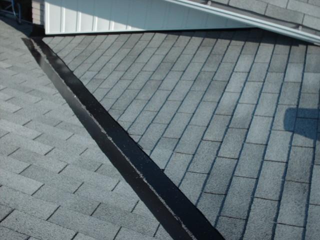 Metal Roof Valley Installation : Valley retrofit